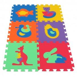 Pěnový koberec MAXI Zvířata I
