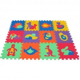 Penový koberec MAXI zvieratá I-II