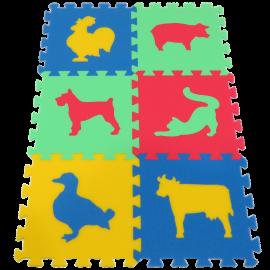 Pěnový koberec MAXI Zvířata III