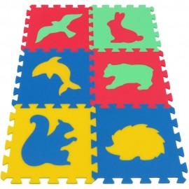 Pěnový koberec MAXI Zvířata IV