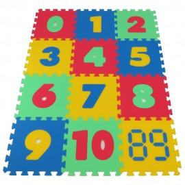 Pěnový koberec MAXI Čísla silný