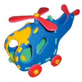 Vrtulník 3D Puzzle