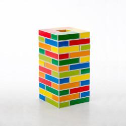Barevné kartonové cihly Buntbox