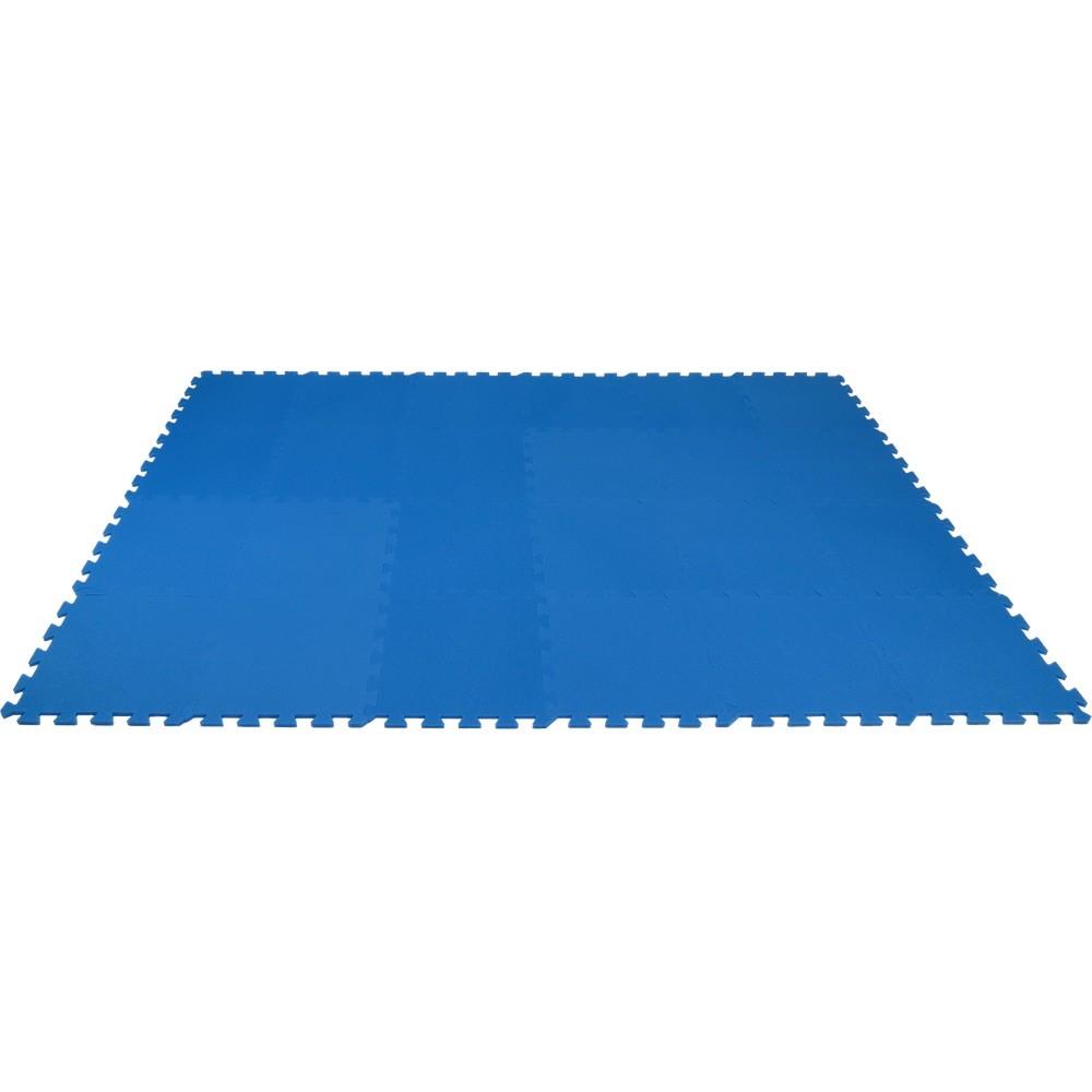 MALÝ GÉNIUS Pěnový koberec MAXI 24 - Modrá
