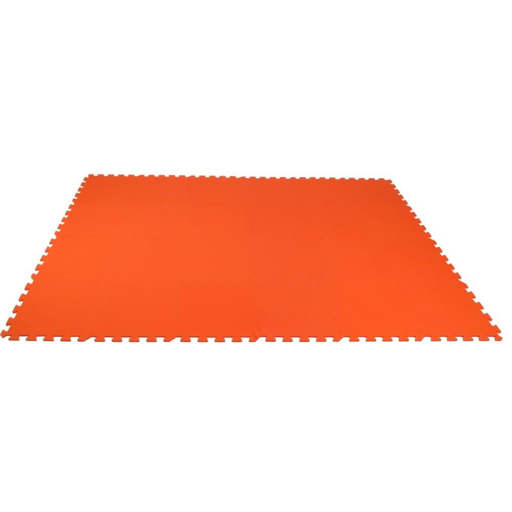 MALÝ GÉNIUS Pěnový koberec MAXI 24 - Oranžová