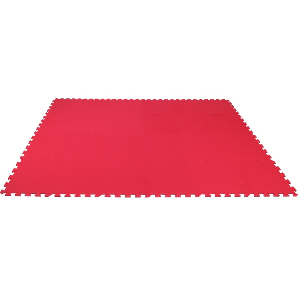 MALÝ GÉNIUS Pěnový koberec MAXI 24 - Červená