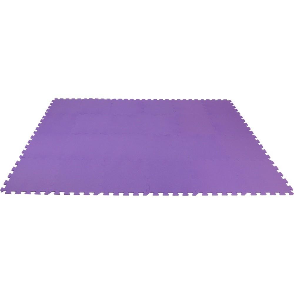 MALÝ GÉNIUS Pěnový koberec MAXI 24 - Fialová