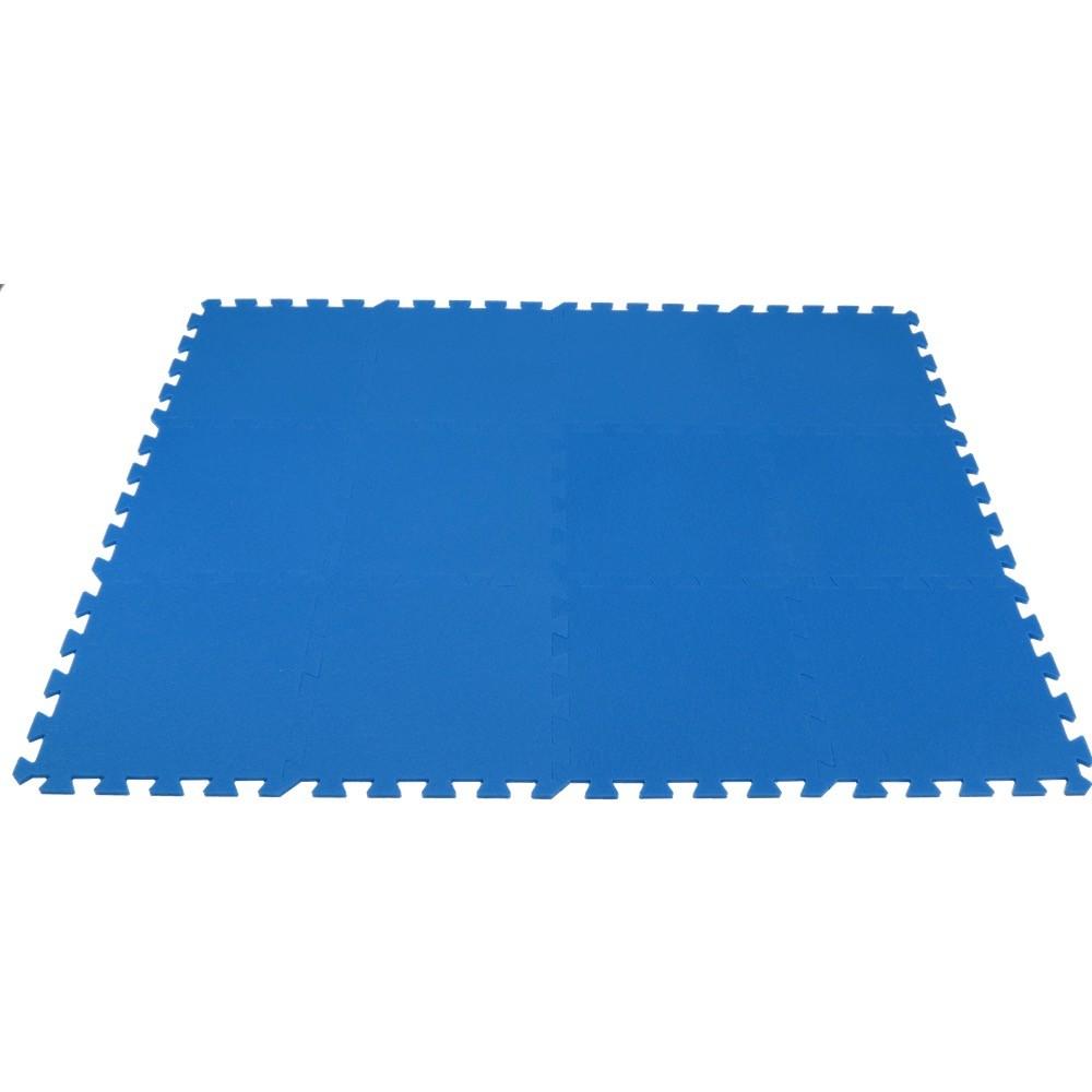 MALÝ GÉNIUS Pěnový koberec MAXI 12 - Modrá
