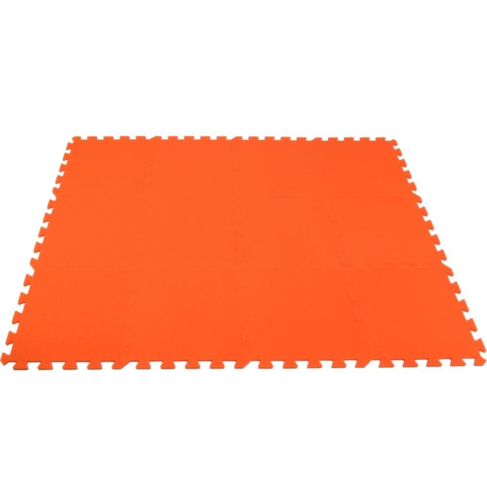 MALÝ GÉNIUS Pěnový koberec MAXI 12 - Oranžová