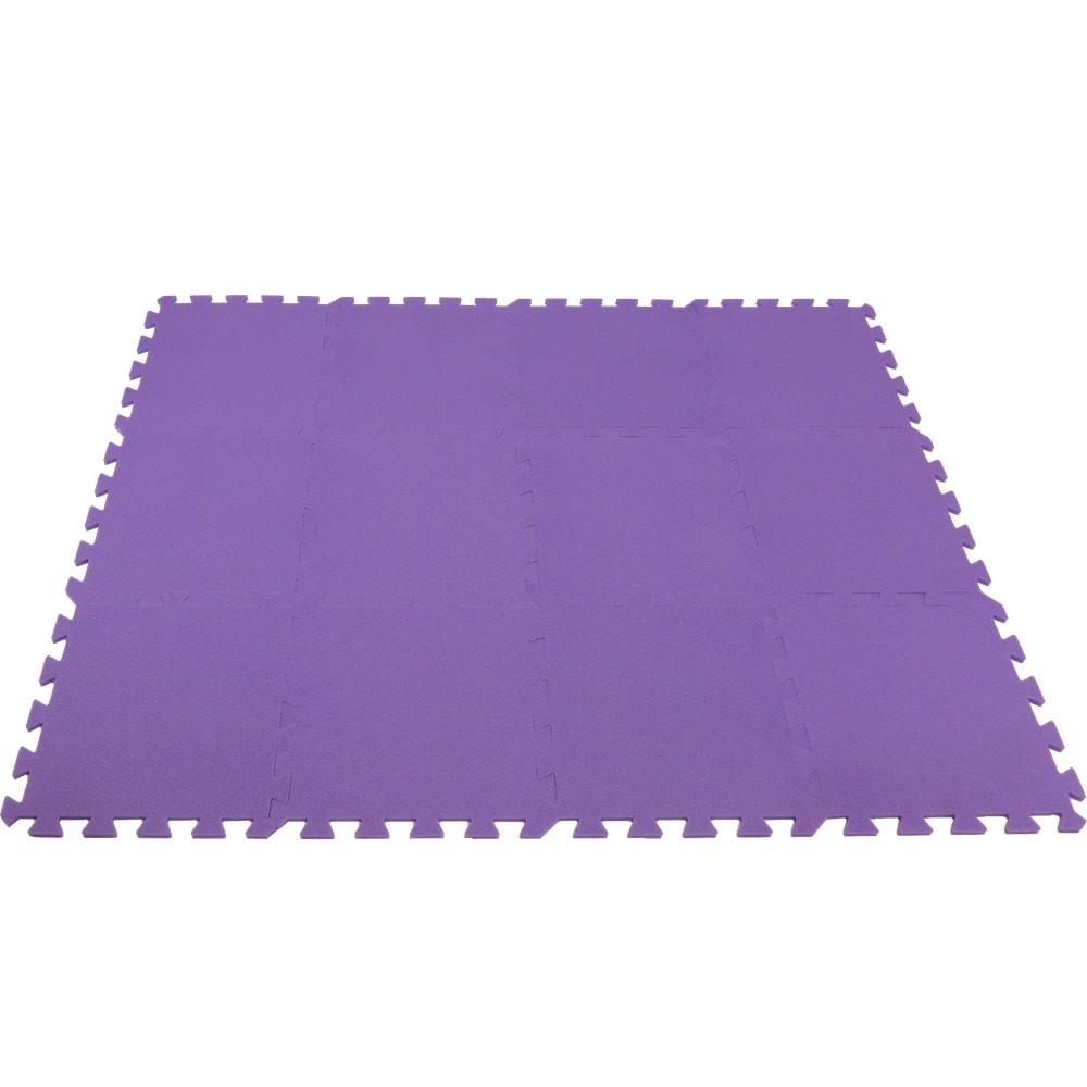 MALÝ GÉNIUS Pěnový koberec MAXI 12 - Fialová