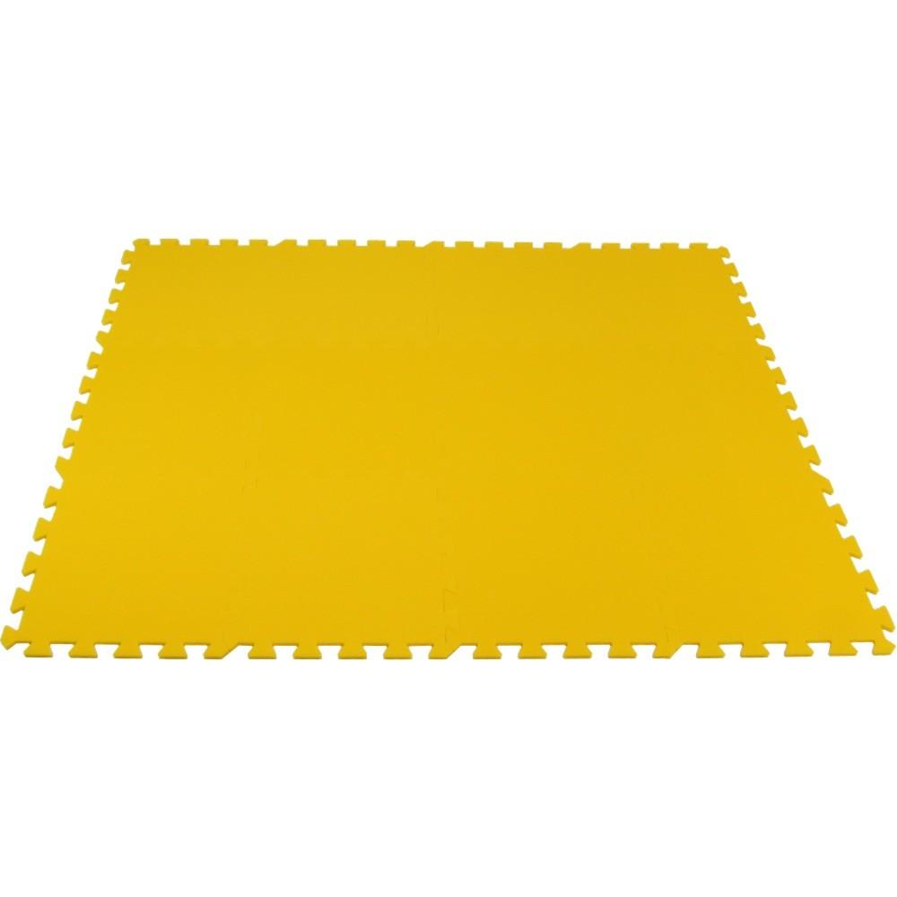 MALÝ GÉNIUS Pěnový koberec MAXI 12 - Žlutá