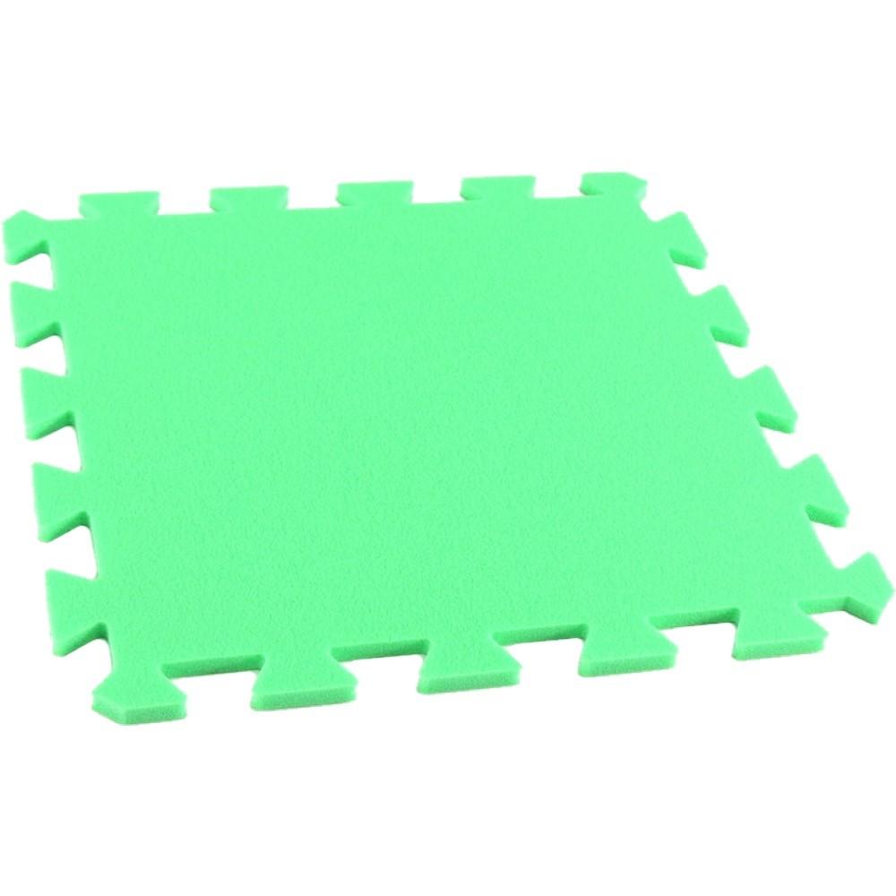 MALÝ GÉNIUS Pěnový koberec MAXI, jednotlivý díl - Zelená