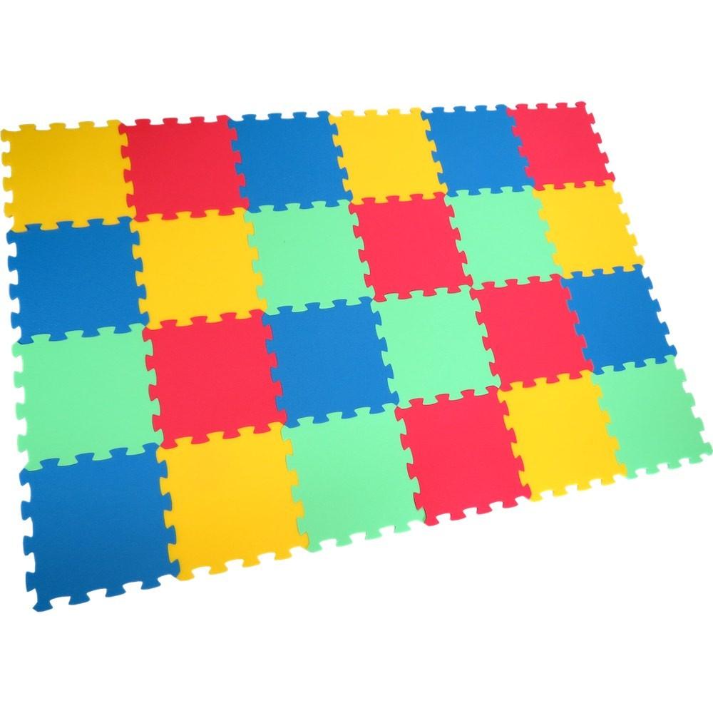 Pěnový koberec Uni-form 24 - Žlutá