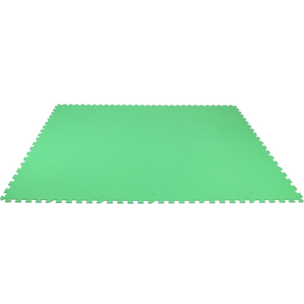 MALÝ GÉNIUS Pěnový koberec MAXI 24 - silný 0+ - Zelená