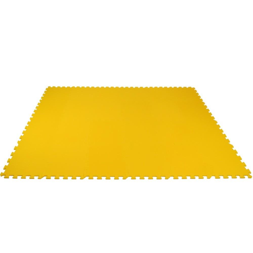 MALÝ GÉNIUS Pěnový koberec MAXI 24 - silný 0+ - Žlutá