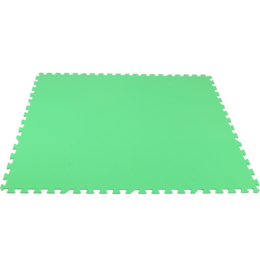 MALÝ GÉNIUS Pěnový koberec MAXI 12 - silny - Zelená
