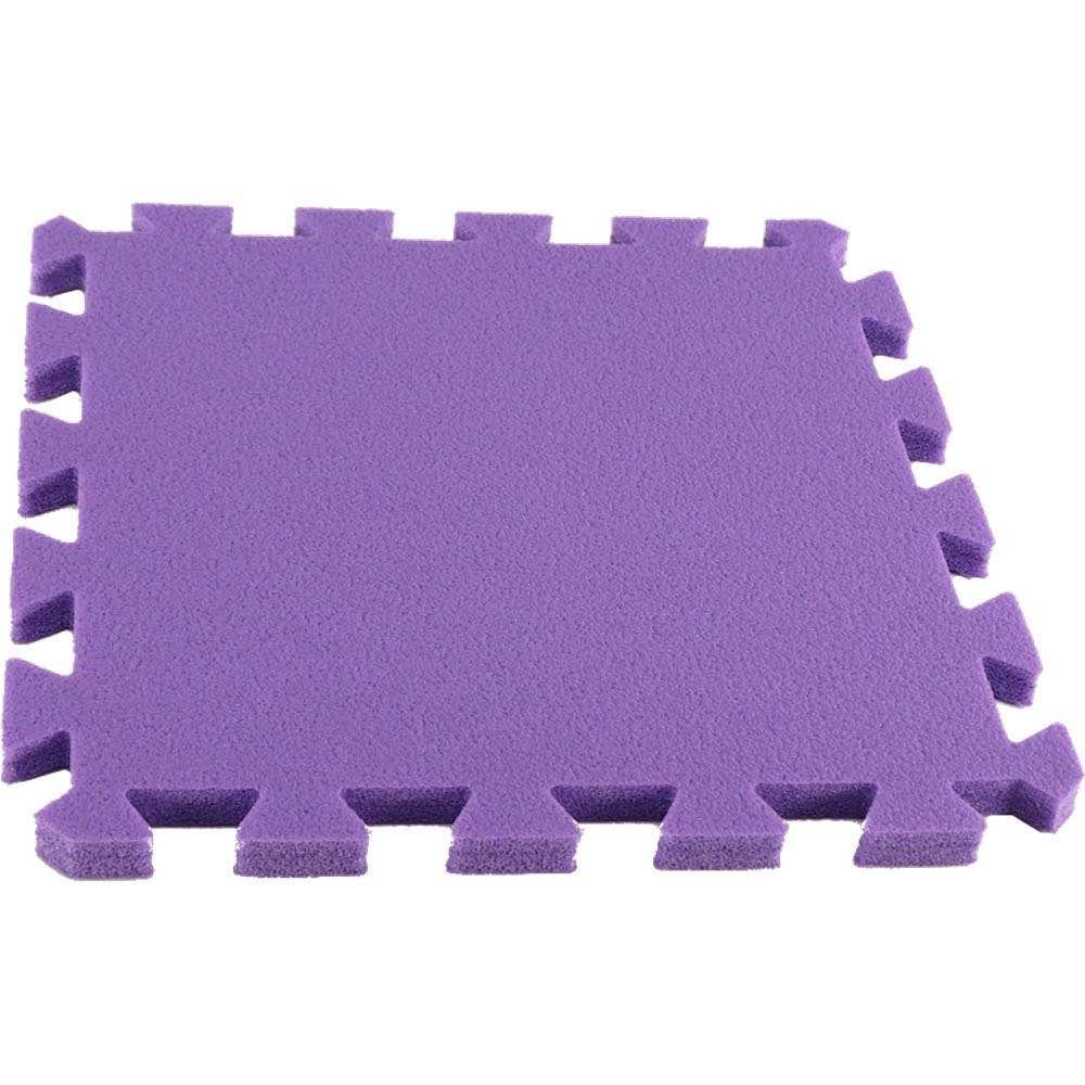 MALÝ GÉNIUS Pěnový koberec MAXI, jednotlivý díl siný - Fialová