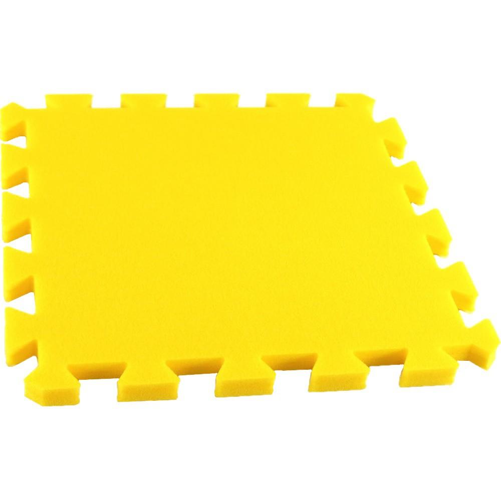 Pěnový koberec MAXI, jednotlivý díl siný - Žlutá
