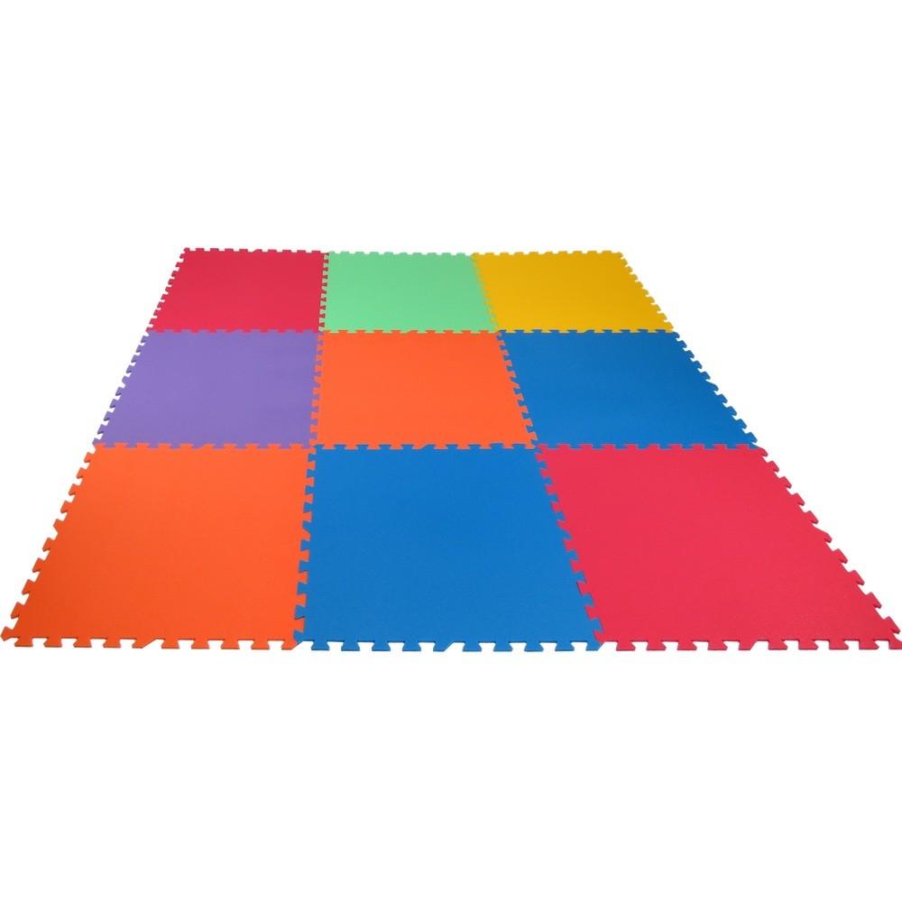 Pěnový koberec XL 9 silný - Žlutá