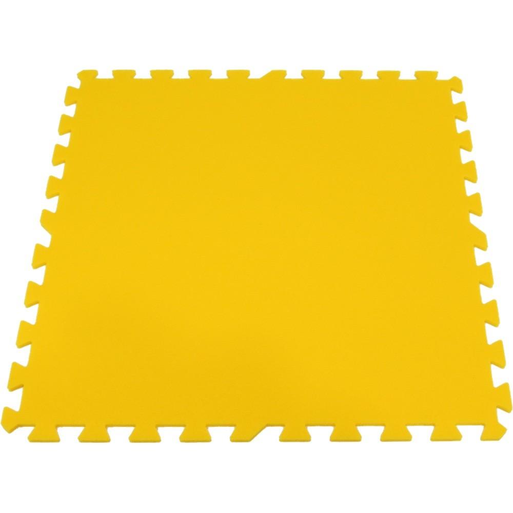 Pěnový koberec XL, jednotlivý díl silný - Žlutá