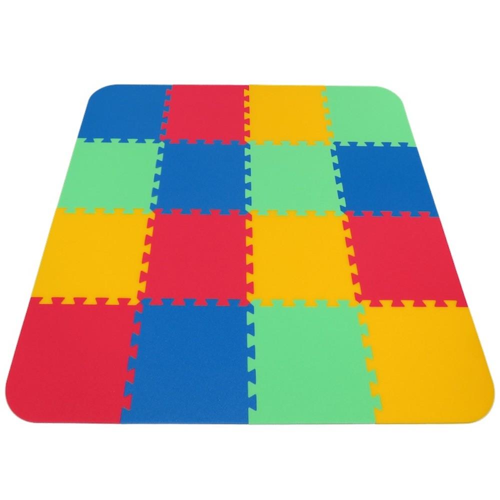 MALÝ GÉNIUS Pěnový koberec Optimal 16 silný - Zelená