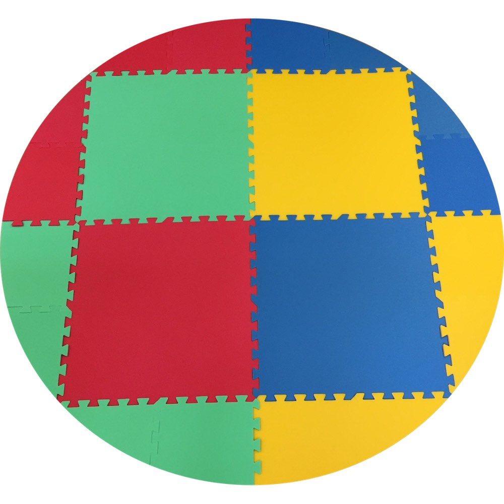 Pěnový koberec KoloMat silný - Žlutá
