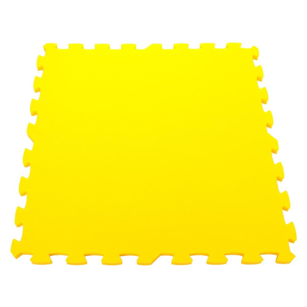 Pěnový koberec Mid-form, jednotlivý díl silný - Žlutá