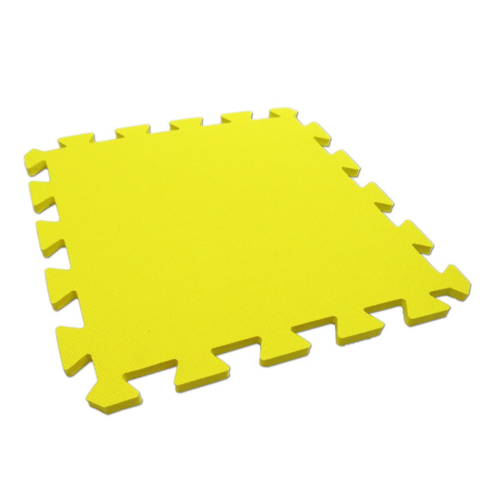 Pěnový koberec MAXI EVA, jednotlivý díl - Žlutá